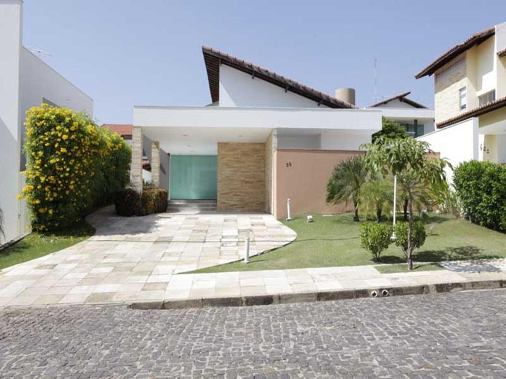 Fachada Casa Plana do Con